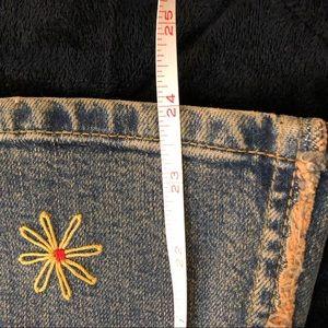 Dkny Skirts - DKNY Denim Embellished Skirt